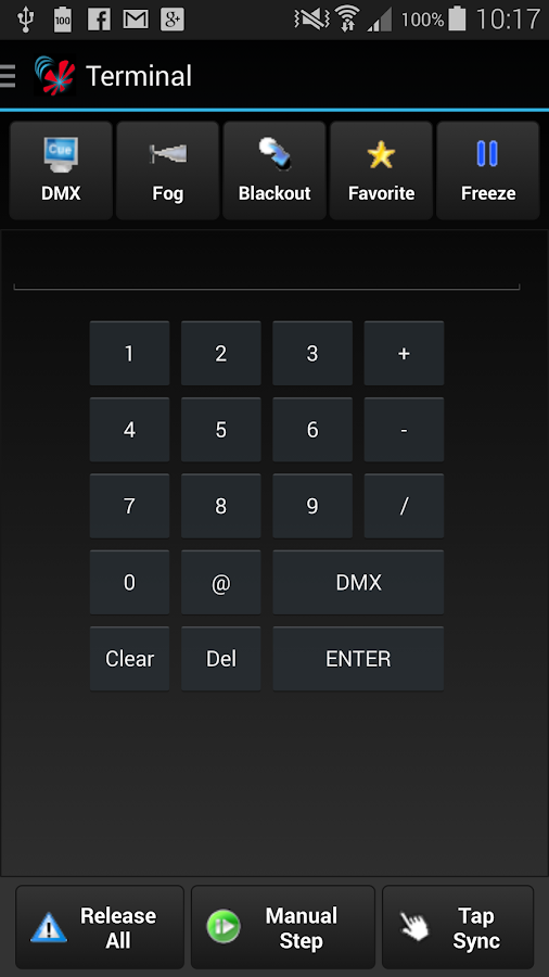 Freestyler Dmx Remote (WIFI) - screenshot