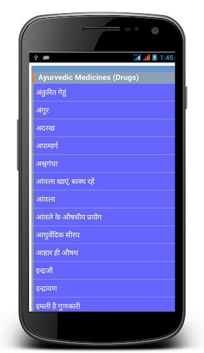 Aayurveda Medicines in Hindi