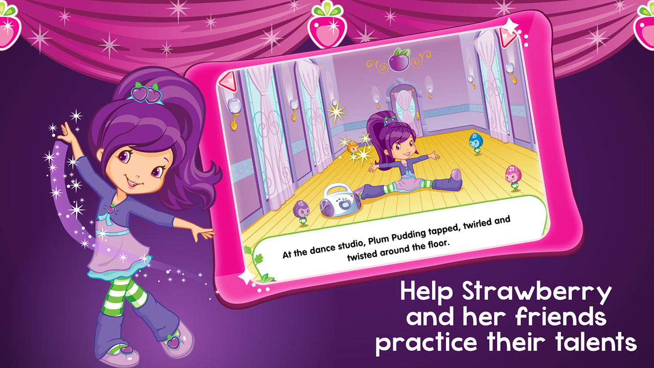 Strawberry Shortcake Friends - screenshot