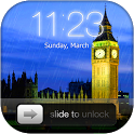 Rainy London Lock Screen icon