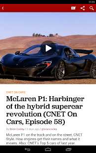 CNET TV: Best Tech News, Reviews, Videos & Deals- screenshot thumbnail