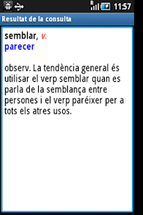 Diccionari Valencià <>Castellà - screenshot thumbnail
