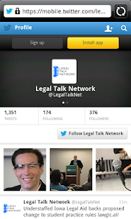 Legal Talk Network - screenshot thumbnail