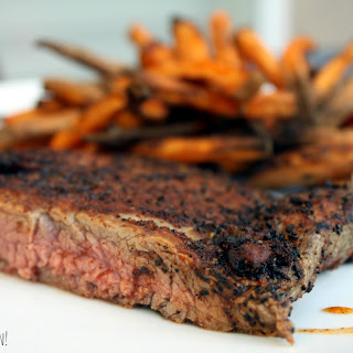 Coffee-Chili Rubbed Steak