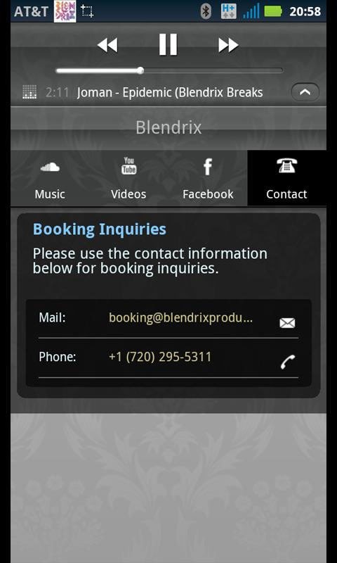 Blendrix - screenshot