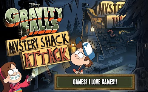 Gravity Falls Mystery Attack - screenshot thumbnail