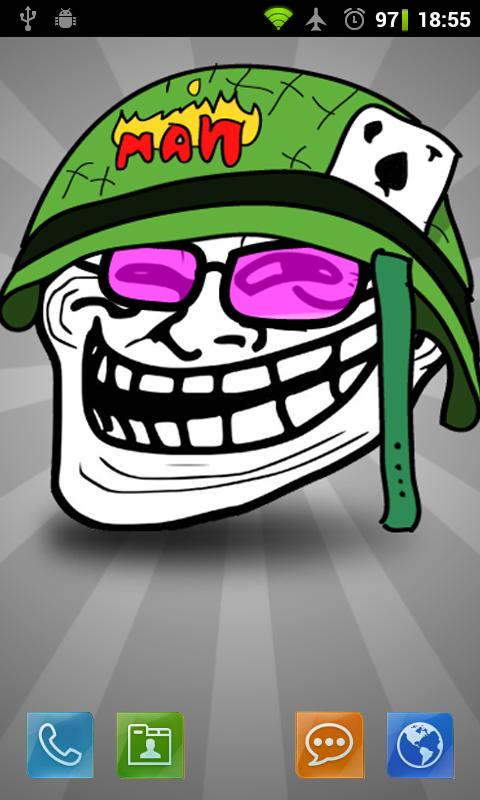 Download the troll face full live wallpaper android apps on troll face full live wallpaper voltagebd Image collections