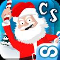 Crazy Santa: Xmas Gift Smasher logo