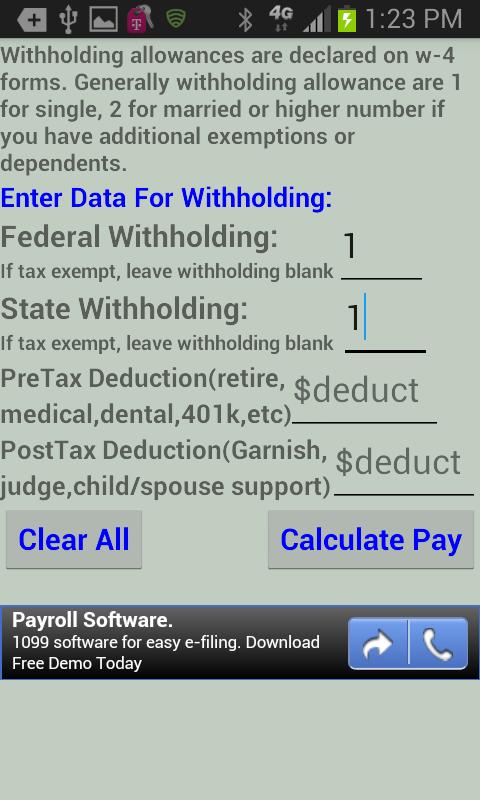 taxrefund calculator