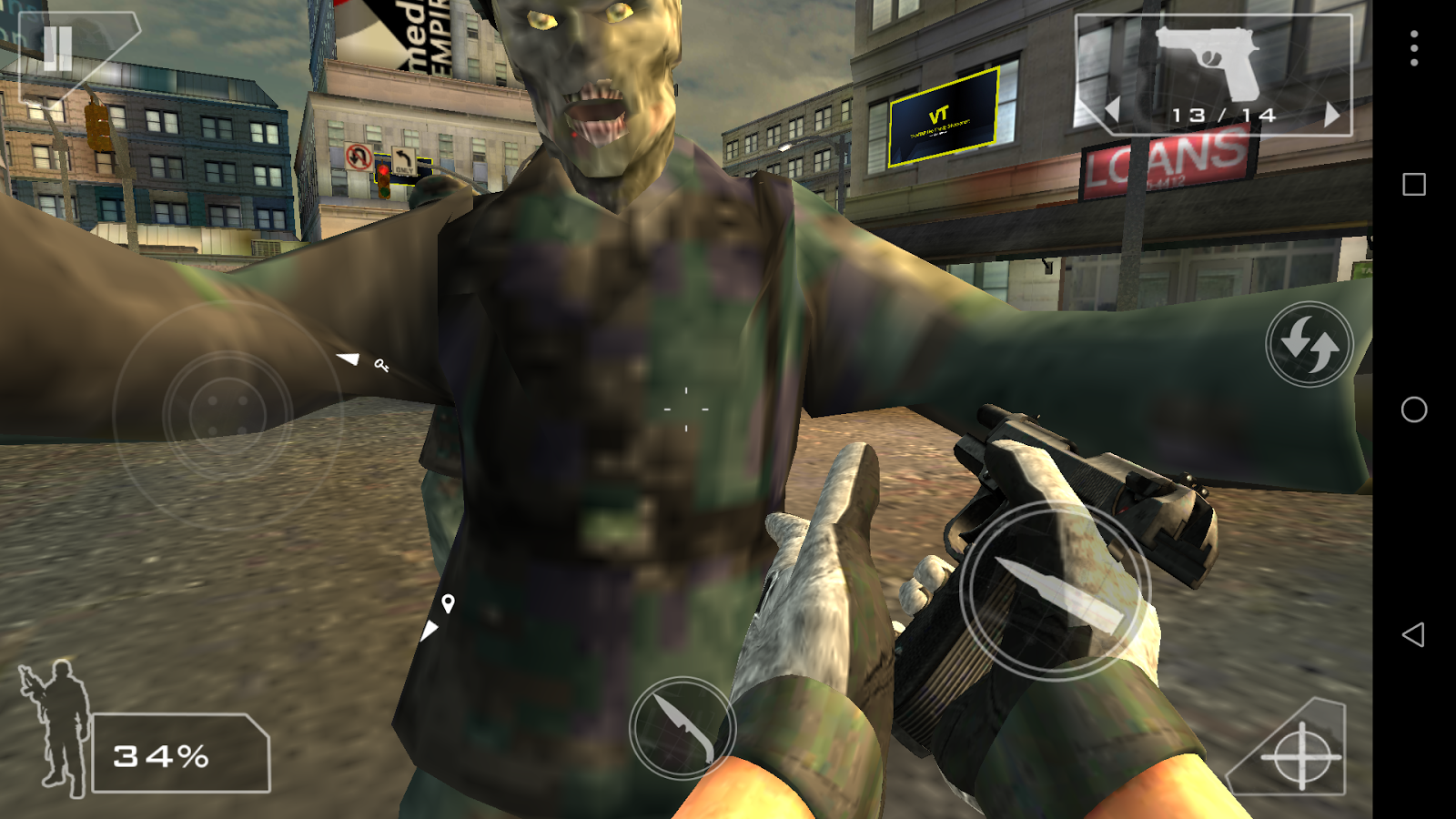 Green Force: Zombies Pro - screenshot
