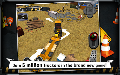 Trucker: Parking Simulator - screenshot thumbnail