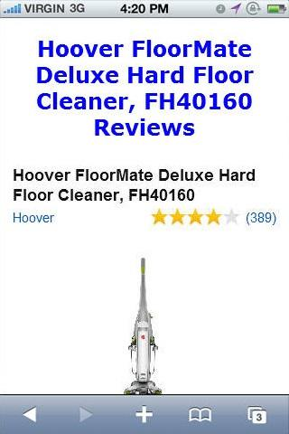 FH40160 Floor Cleaner Reviews