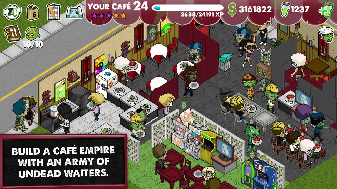 Zombie Café - screenshot