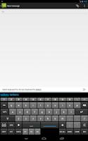 Screenshot of Tablet Keyboard Pro