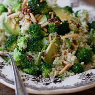 Double Broccoli Quinoa.