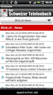 RSS Reader Swiss Edition - screenshot thumbnail