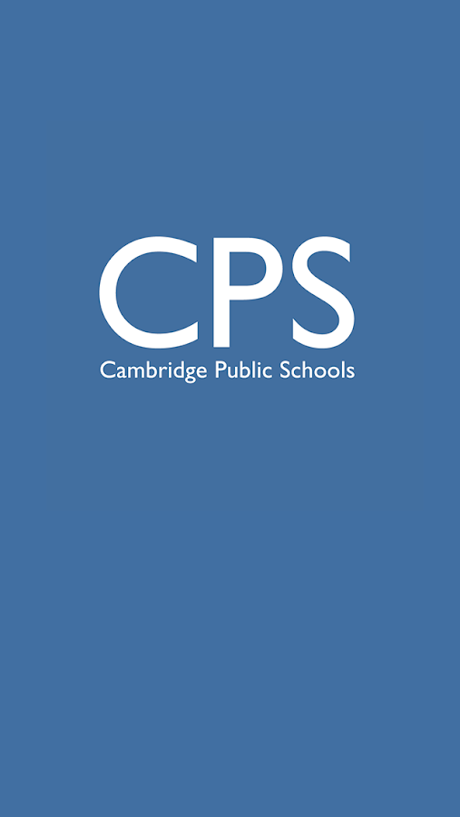 Cambridge Public Schools- screenshot