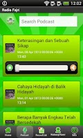 Screenshot of Fajri FM Radio Streaming