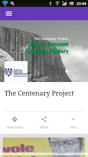 The Centenary Project