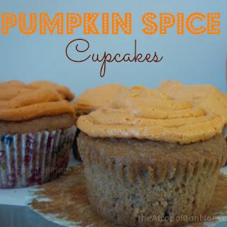 Recipe | Pumpkin Spice Cupcakes Recipe
