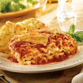 Scotto Cheese Lasagna.