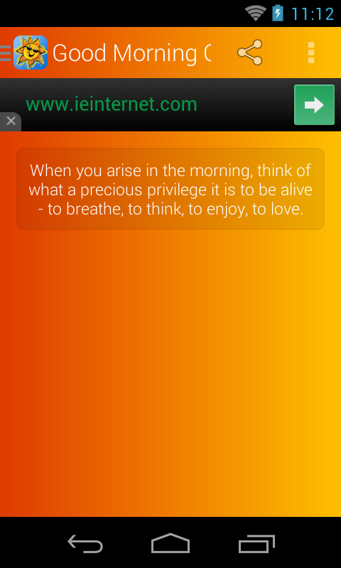 Good Morning Quotes- screenshot