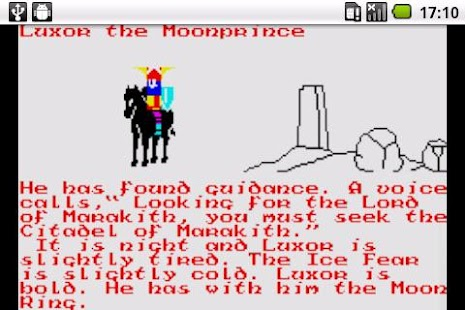 The Lords of Midnight: 8 bit- screenshot thumbnail