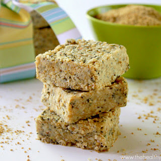 Raw Hemp and Chia Seed Bars (Raw, Vegan, Gluten-Free, Grain-Free, Dairy-Free, No Refined Sugars)