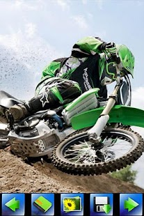 Off-road Motorcycle wallpaper - screenshot thumbnail