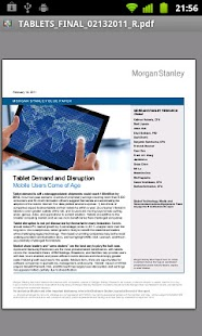 Morgan Stanley Research - screenshot thumbnail