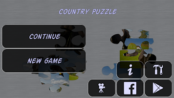 Screenshot of Country Puzzle