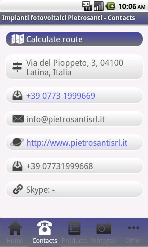 Fotovoltaici Pietrosanti - screenshot