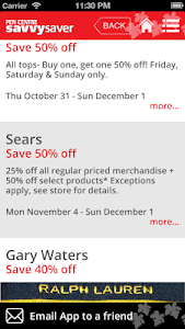 Pen Centre Savvy Saver screenshot 8