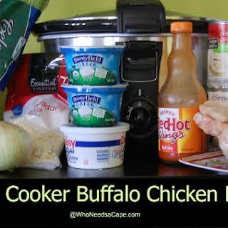 Slow Cooker Buffalo Chicken Pasta.