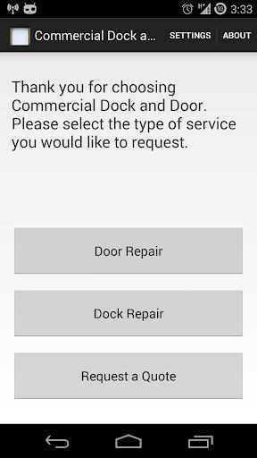 Commercial Dock Door