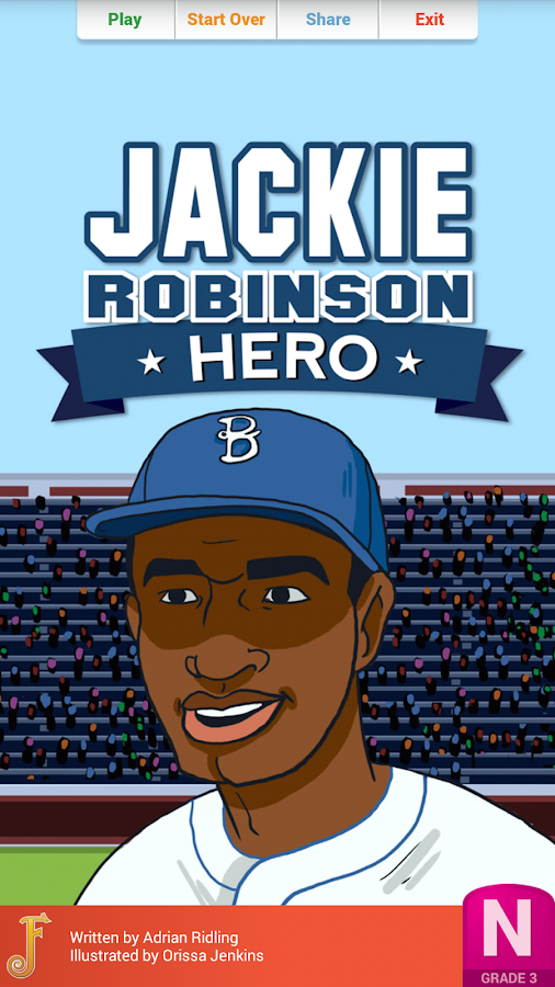 hero essay on jackie robinson With skill and courage, jackie robinson broke down the walls of segregation that locked black americans out of professional sports.