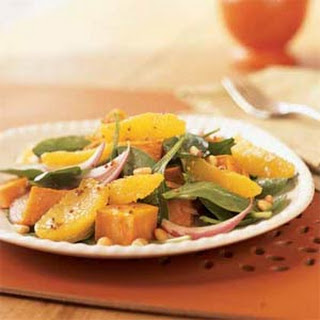 Roasted Sweet Potato and Orange Salad