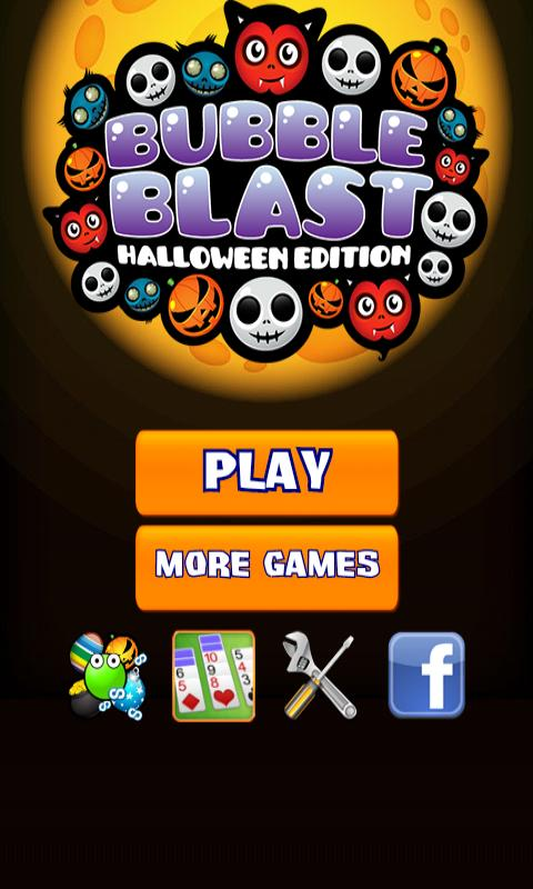 Bubble Blast Halloween - screenshot