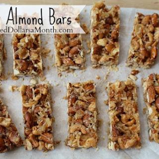 Cashew Almond Bars Recipe