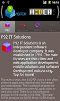 Screenshot of p92 IT Solutions