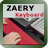 Zaery synth keyboard beta logo