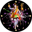 God Shiva Clock Live Wallpaper icon