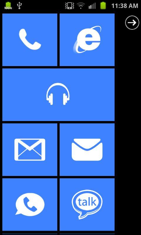 Metro UI Pro- screenshot