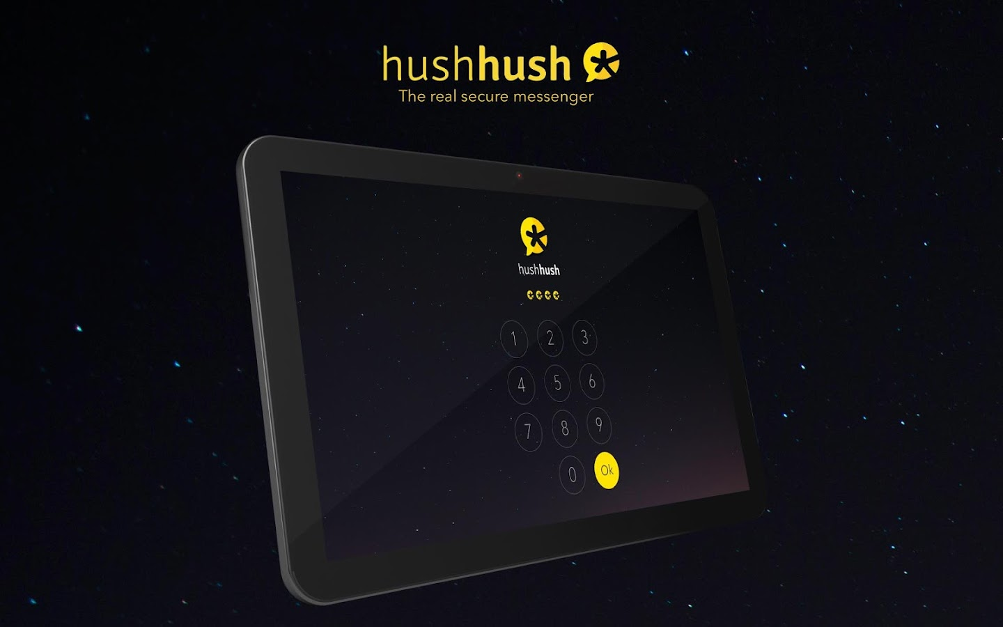HushHush secure messenger. - screenshot