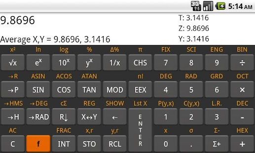 RpnCalc - Rpn Calculator- screenshot thumbnail