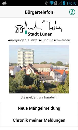 Bürgertelefon Stadt Lünen