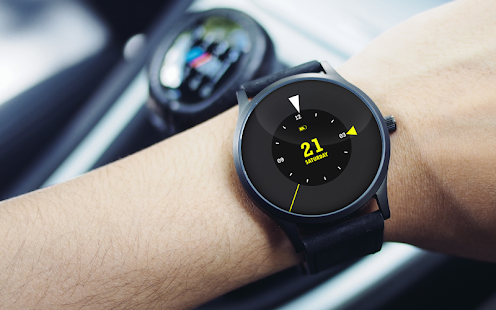 Black Arrows Watch Face- screenshot thumbnail