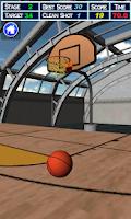Screenshot of Drag Basketball