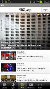 Neue Deister-Zeitung - NDZ - screenshot thumbnail
