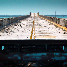 End of the Road by Steve Hall - Buildings & Architecture Decaying & Abandoned ( florida keys, scenic )